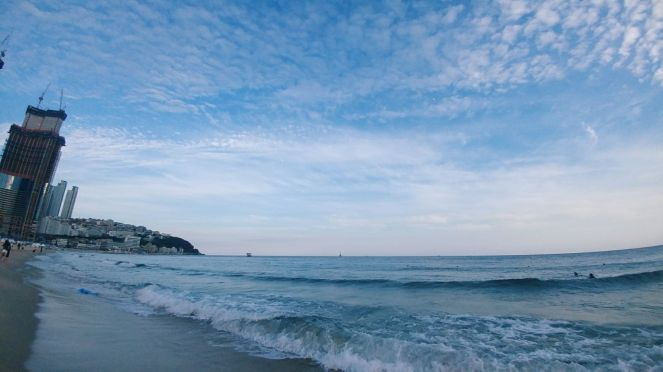 Busan_haeundae beach